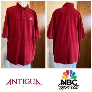 XXL Red NBC Sports Polo 2XL Broadcasting Shirt